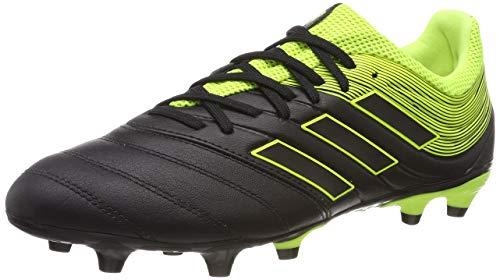 adidas Herren Copa 19.3 FG Fußballschuhe ,Schwarz (Solar Yellow/Core Black), 48 EU