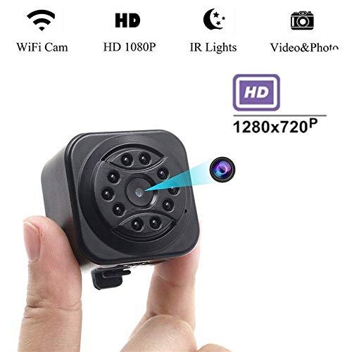 MMEEII Mini versteckte drahtlose IP-Kamera, 720p HD Sicherheitsüberwachungskamera mit Nachtsicht, Bewegungserkennung Die Ip-flush