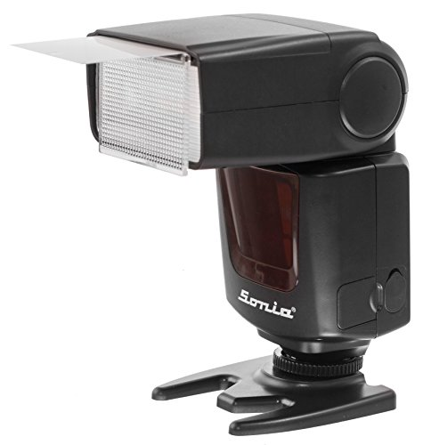 Sonia Camera Flash Speedlite Speedlight VT-631 for Nikon, Canon, Sony, Olympus, Pentax & All Other DSLR Cameras GN42