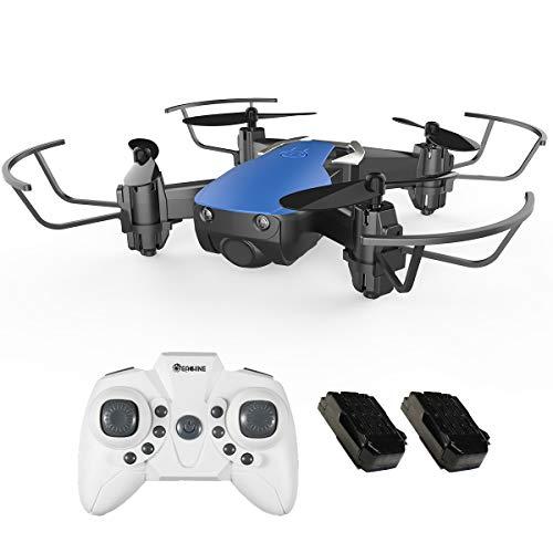 EACHINE E61H Mini Drone pour Enfant et Adolescent - Temps de vol 20 Min Pare-Chocs de Protection Fonction Hauteur maintenu - Facile à diriger