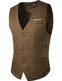 Sportides Uomo Waistcoat Gilet Business Leisure Gentleman Vest Suits Blazer  JZA005 2ad2c47636c