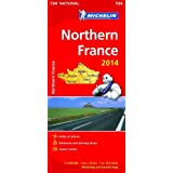 Northern France 2014 National Map 724 (Michelin National Maps)