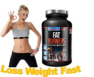 High Strength Fat Burners - Best Weight Loss Tablets - Fat Burners for Woman. Fat Burners for Men - Powerful Thermogenic Weight Loss #1 by UK
