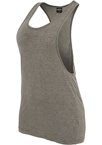 Urban Classics - T-Shirt De Sport Femme Olive