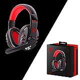 Y56 Kabellos Drahtloser Bluetooth Gaming Kopfhörer Stereokopfhörer Headset mit Mikrofon für PS4 für PC für Telefon für PUBG