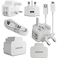 100% ORIGINAL BRAND NEW White 2 Amp 100% Genuine Original Samsung UK Wall Mains Plug Charger With Usb Cable For Samsung Galaxy Tab 3 7.0 inch / Samsung Galaxy Tab 3 8.0 inch / Samsung Galaxy Tab 3 10.1 inch / Samsung Galaxy Tab 4 7.0 inch / Samsung Galaxy Tab 4 8.0 inch / Samsung Galaxy Tab 4 10.1 inch / Samsung Galaxy Note 10.1 Inch (2014) / Samsung Galaxy Tab S 8.4 inch / Samsung Galaxy Tab S 10.5 inch /Tab Pro 8.4 inch /Tab Pro 10.1 inch (No Retail Packaging - Bulk Packaged)