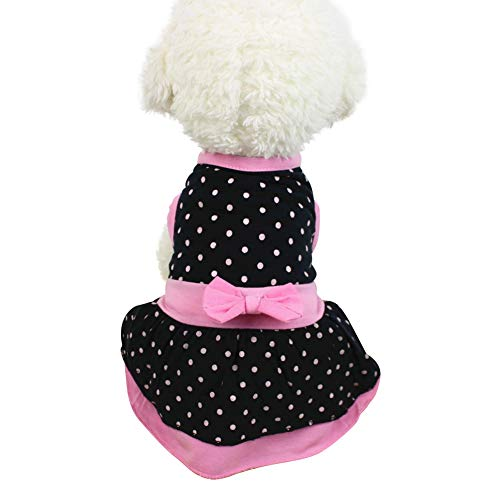 Handfly Hundebekleidung Hunde Kleid Pet Dog Dress Dog Kleidung Elegante Prinzessin Dress Tutu Queen Style für kleine, extra kleine Hund Teddy, Mops, Chihuahua, Shih Tzu, Yorkshire Terrier
