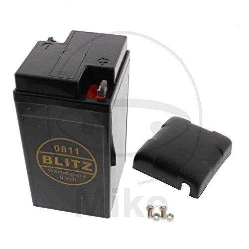 Batterie 0811, schwarz beschichtet