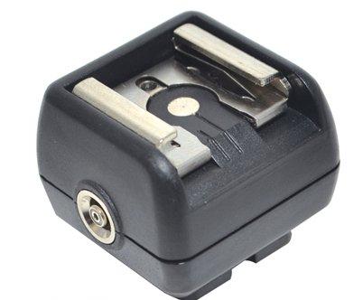 JJC Blitzschuhadapter mit Mittenkontakt f. Nikon, Canon, Olympus, Pentax...