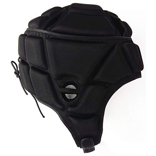 CX ECO Baseballhelm American Football Helm Baseball Cap Batting Atmungsaktiver Softball Batting Safety Cap Jugend & Erwachsene,Black,M -