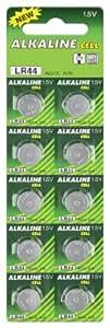 Batterie LR44, Argent