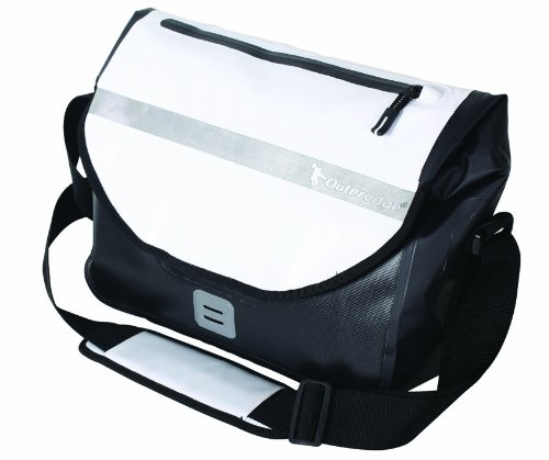 Outeredge 15-Zoll-Laptop-Tasche, wasserdicht schwarz - weiß