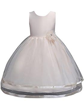 3b86d1832832 Senza Maniche Vestito Principessa Pizzo Abito Bambine Abiti Matrimonio Tutu  Ragazze Compleanno Festa Matrimonio.