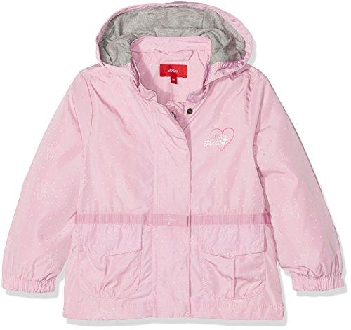 s.Oliver Baby-Mädchen Jacke 59.802.51.2443, Rosa (Light Pink AOP 44A2), 86