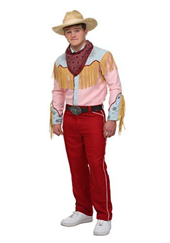 Kostüm Future To Back - Back to the Future Cowboy Marty Fancy dress costume Small