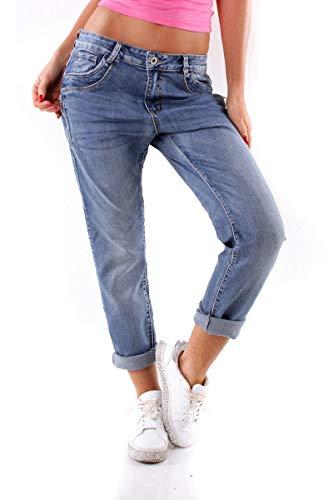 aa8c806d18d95a OSAB-Fashion 10334 Damen Jeans Karostar by Lexxury Hose Regularfit Boyfriend  Baggy Haremscut