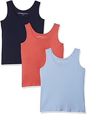 Simply Be Women's Vest Top pack of 3