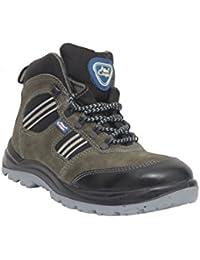 Allen Cooper AC 1157 Hi-Ankle Safety Shoe (Size 9 UK/India)