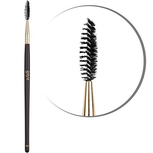 Augenbrauen Bürste Professionell Makeup - B10 vegan High Quality dichte Synthetik Fasern Wimpern Brauen Bürste - Machen Sie Ihre Augenbrauen & Wimpern professionell & einfach zurecht für ein optimales Resultat