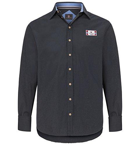 JAN VANDERSTORM Herren Hemd SEGIMAR in Übergröße Große Größen Plus Size Big Size XL XXL XXXL 4XL 5XL 6XL 7XL 8XL 9XL 10XL Blau