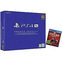 PlayStation 4 Pro - Konsole A Chassis 1TB (Zertifiziert und Generalüberholt) + Marvel's Spider-Man - Standard Edition - [PlayStation 4]