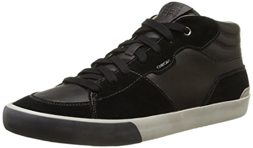 Geox U Smart A, Sneaker Alte Uomo Nero (Black )