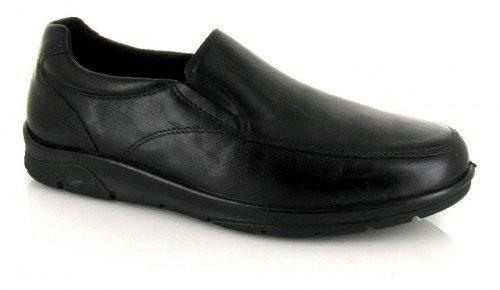 Pitillos, Mocassini uomo nero nero nero Size: 45
