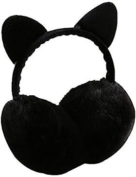 Surker para mujer linda del gato de imitaci¨®n de piel de conejo Orejas calientes del invierno orejeras Esenciales
