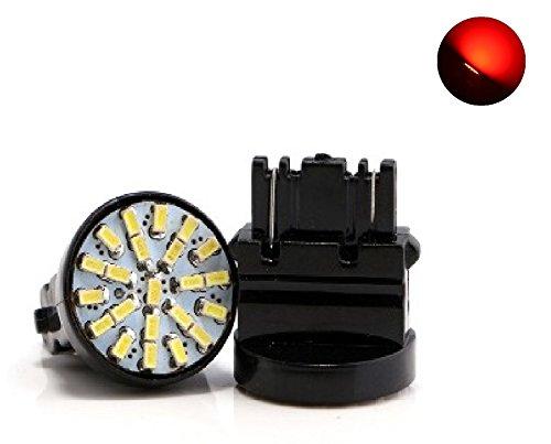 Preisvergleich Produktbild X2LED Leuchtmittel T20WY21W rotes Licht