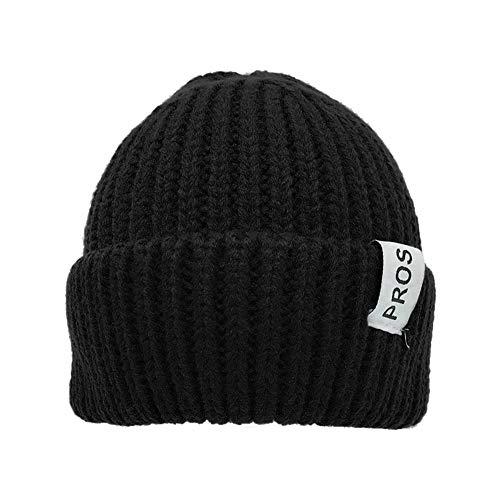 FOANA Unisex Männer Frauen Beanie Hat Warme gerippte Winter Turn Ski Fischer Docker Hut Slouch Hut