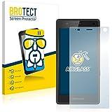BROTECT AirGlass Protector Pantalla Cristal Flexible para Fairphone 2 (2015) Protector Cristal Vidrio - Extra-Duro, Ultra-Ligero