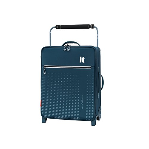 it luggage World's Lightest Vitalize 2 Wheel Super Lightweight Suitcase Cabin Koffer, 57 cm, 35 liters, Blau (Blue)