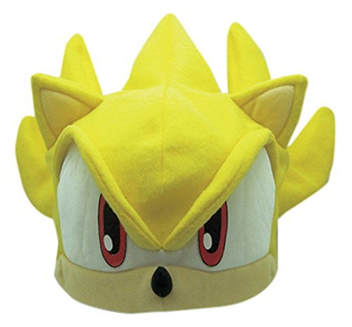 The Hedgehog Serie: Super Sonic Fleece Cap (Sonic The Hedgehog-kostüme Für Halloween)