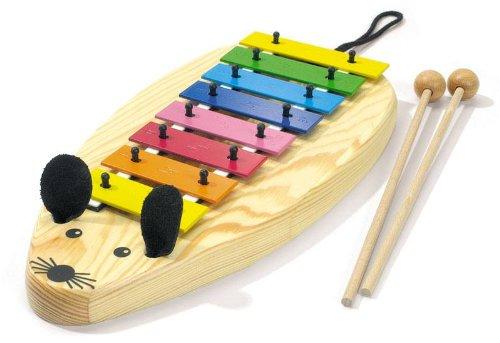 Sonor MG-Maus Glockenspiel für Kinder + KEEPDRUM Bag Tasche Gratis