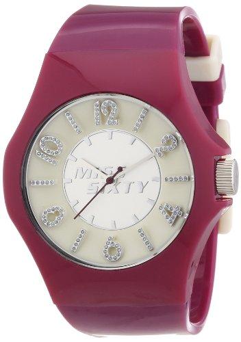 Sector - R0751124502 - Flash - Montre Femme - Quartz Analogique - Cadran Multicolore - Bracelet Résine Rouge