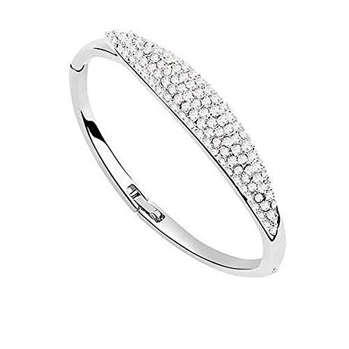 rarelove-swarovski-elements-colorful-crystal-18k-gold-plated-fashion-bangle-bracelet