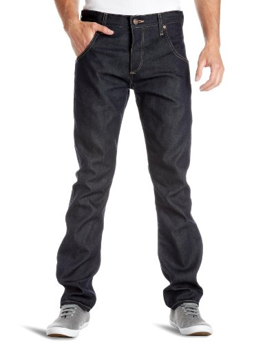Wrangler - Jeans Spencer, Uomo, Blu (Dry), 48 IT (34W/32L)