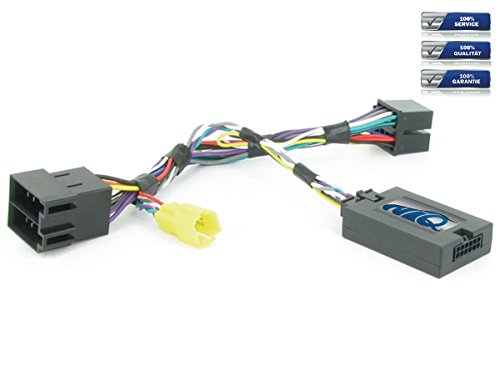 NIQ CAN-BUS Lenkradfernbedienungsadapter geeignet für PIONEER Autoradios, kompatibel mit Renault Clio / Kangoo / Laguna II / Master / Megane / Modus / Scenic / Trafic Bj. Ab 2005