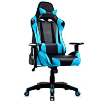 IntimaTe WM Heart Racing Chair, Gaming Chair PU Leather Swivel Office Chair Recliner Tilt & Lock Function Executive Computer Task Chair