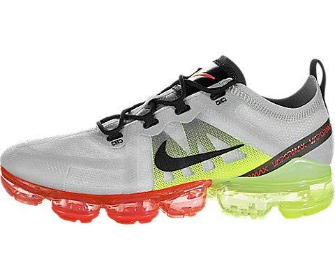 best sneakers 7bf04 c0116 Nike Air Vapormax 2019, Zapatillas de Atletismo para Hombre, (Pure  Platinum Black