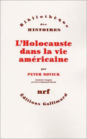 L'Holocauste dans la vie américaine