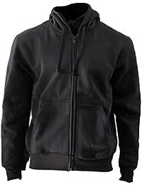 Rockit - Sweat-shirt à capuche -  - Imprimé musique et film - À capuche - Manches longues Homme Noir Noir