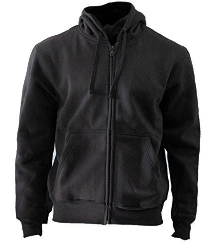 Rockit - Sweat-shirt à capuche -  - Imprimé musique et film - À capuche - Manches longues Homme Noir Noir Rockit