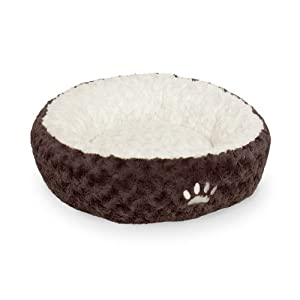 Nobby 71562 Donut Neiku für Hunde Oder Katzen, 45 cm, braun/weiß