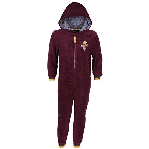 Harry Potter Gryffindor, Jungen Strampelanzug, Schlafanzug, Onesie, Einteiler - 11-12 Jahre 152 cm