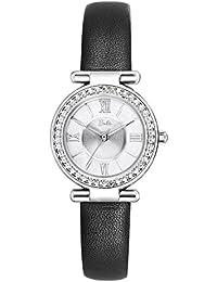 Barbie W50570L.01A Reloj de Pulsera para mujer Correa de Piel Estilo Elegante Vintage