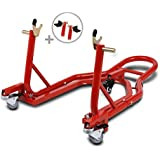 Béquille de Range Moto Arrière Triumph Street Triple R ConStands Mover II Universel rouge