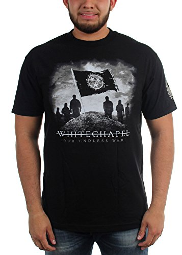 WhiteChapel - Whitechapel - Herren Unser Endless War T-Shirt, Medium, Black Whitechapel T-shirts