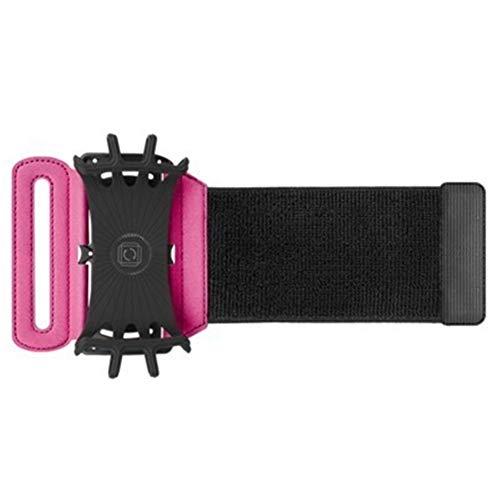 ehbarer Silikongürtel, Outdoor-Sportarmtasche, Armtasche, Fitnessarm für Männer und Frauen (Pink) ()
