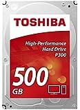 """Toshiba P300 500GB 7200RPM 3.5"""" SATA Hard Drive (bulk)"""